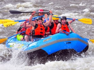 Exciting whitewater rafting in Colorado