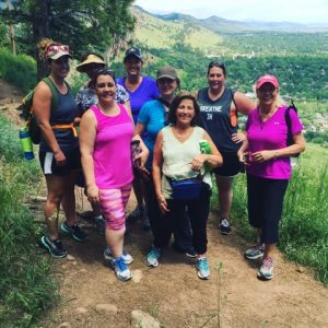 Women hiking with Bolder Adventure Travel