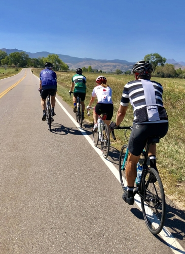 Corporate team building cycling tour