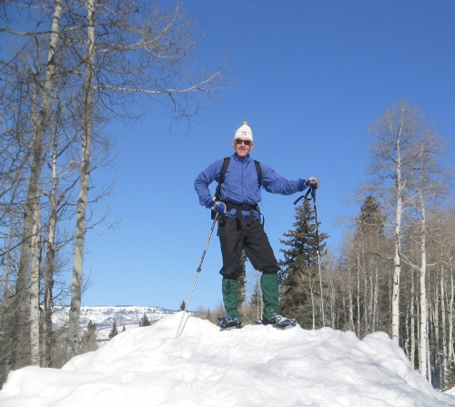 Snowshoeing with Bolder Adventure Travel